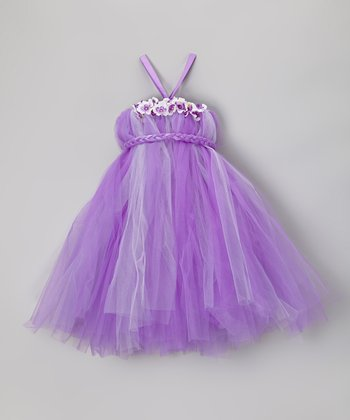 Lilac Tutu Dress - Girls
