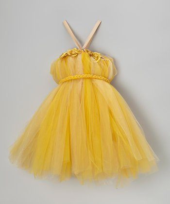 Gold Tutu Dress - Infant, Toddler & Girls