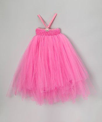 Pink Stretch Bling Tutu Dress - Infant, Toddler & Girls