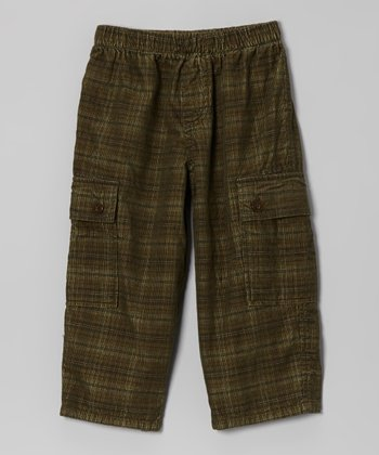 Green Cargo Pants - Infant & Boys