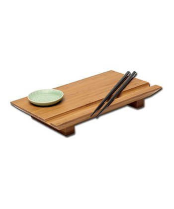 Bamboo Sushi Board Set