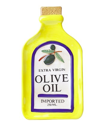 Olive Oil Bottle Spoon Rest