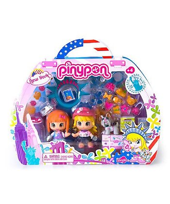 New York Traveler Pinypon Set