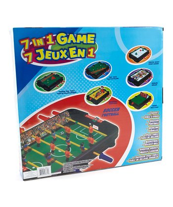Seven-in-One Table-Top Game Set