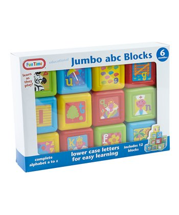 Educational Jumbo Alphabet Blocks