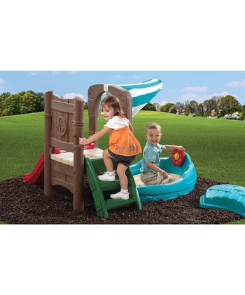 DOCKSIDE SANDBOX & CLIMBER (COSTCO)