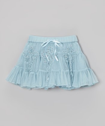 Blue Fluff & Twirl Skirt - Infant & Toddler