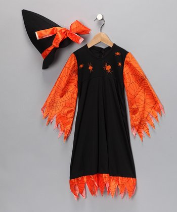 Black & Orange Bewitched Costume - Toddler