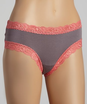 Purple Sage & Sugar Coral Boyshorts - Women