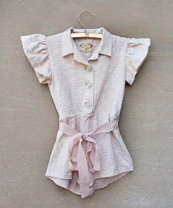 Pink Rosecloud Romper - Toddler & Girls