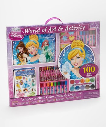 Cinderella World of Art & Activity Set