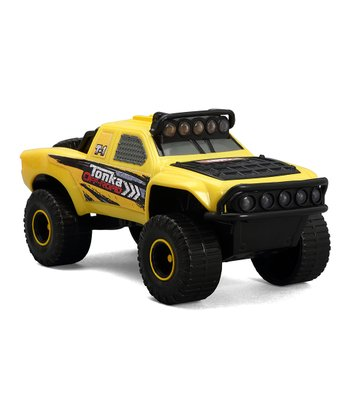 Off-Road Racing Yellow Truck