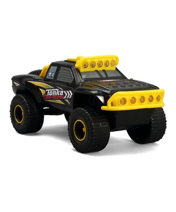 Off-Road Racing Black Truck