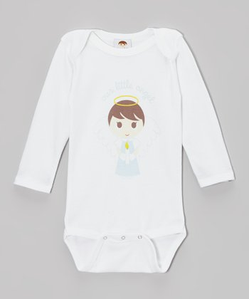 White 'Little Angel' Bodysuit - Infant