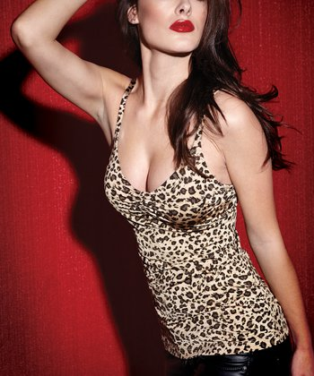Brown Leopard Convertible Bra Camisole - Women & Plus