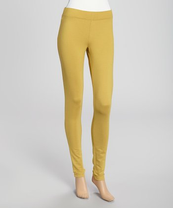 Dark Mustard Leggings