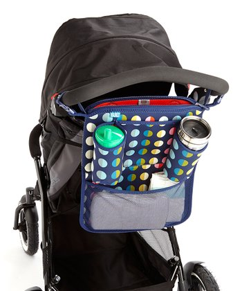 Rainbow Dot No. 9 Day Tripper Stroller Organizer