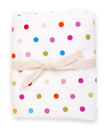 Happy Dots Crib Sheet