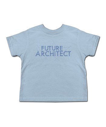 Light Blue 'Future Architect' Tee - Toddler & Kids