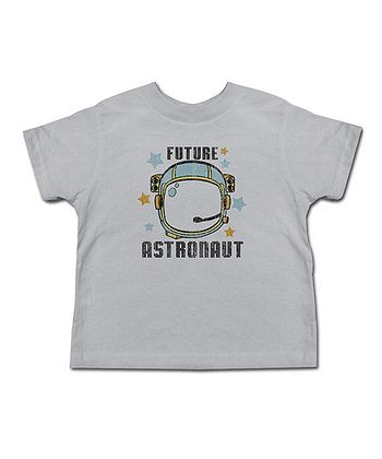 Silver 'Future Astronaut' Tee - Toddler & Kids