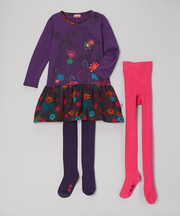 Crown Jewel Alfrida Bam Dress Set  - Toddler & Girls