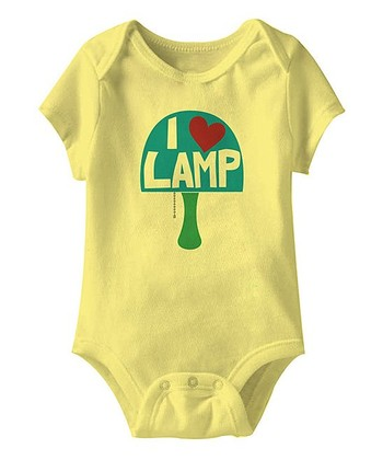 Banana 'Love Lamp' Bodysuit - Infant