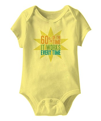Banana '60% of the Time' Bodysuit - Infant