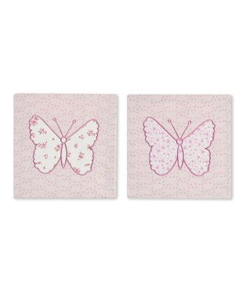 Pink Bella Wall Art Set