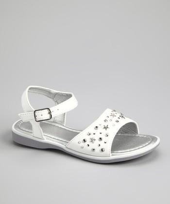 White Star Stud Sandal