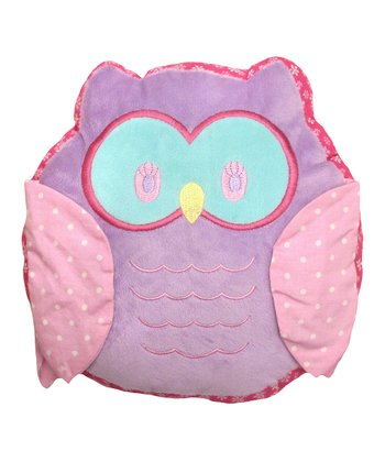 Pink Owlphabet Plush Toy