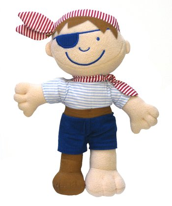 Blue Pirate Plush Toy