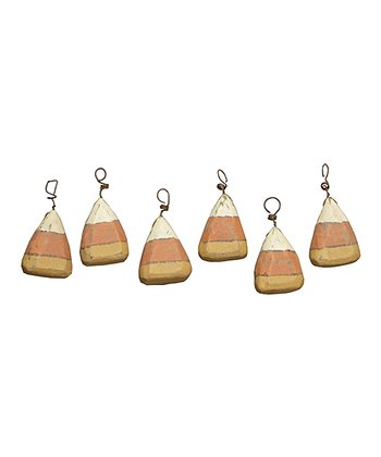 Candy Corn Ornament Set