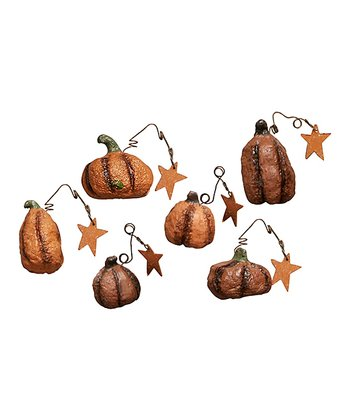 Pumpkin Patch Ornament Set