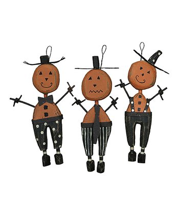 Pumpkin Gang Ornament Set