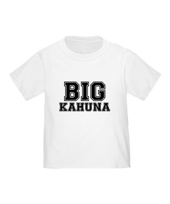 White 'Big Kahuna' Tee - Toddler