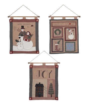 Country 'Let it Snow' Banner Set