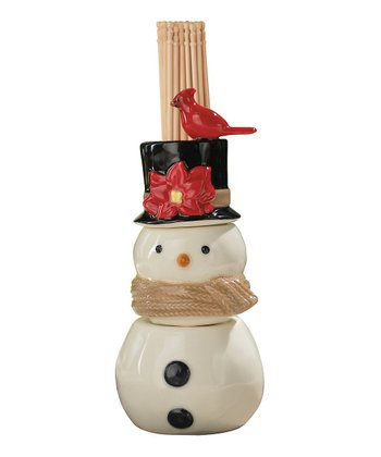 Snowman Toothpick Holder/Salt & Pepper Shakers