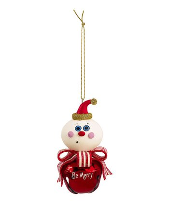 'Be Merry' Jingle Bell Ornament