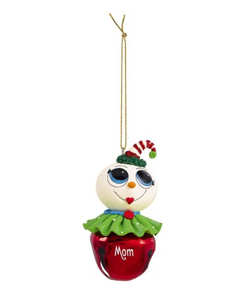 'Mom' Jingle Bell Ornament