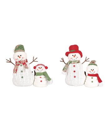 Sparkle Plush Snow Friend Figurine Set