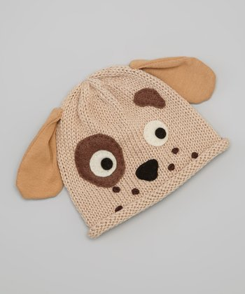 Eco Tan Dog Beanie