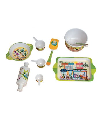 Chet the Cat & Friends Pretend Play Baking Set