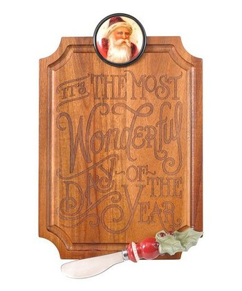 'The Most Wonderful Day of the Year' Cutting Board & Spreader