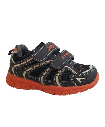 Brown & Orange Running Shoe