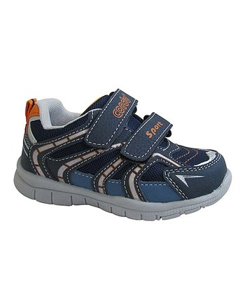 Navy & Orange Running Shoe