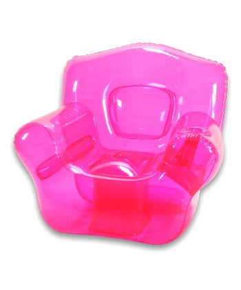 Pretty Pink Inflatable Bubble Chair
