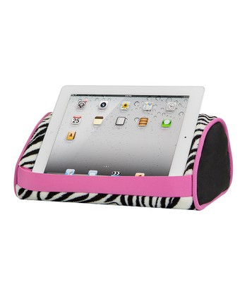 Zebra Tablet Pillow