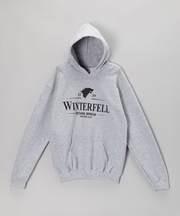 Heather Gray 'Winterfell' Hoodie - Kids & Adults