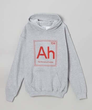 Heather Gray 'Element of Surprise' Hoodie - Kids