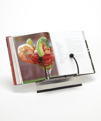 Stainless Steel Cookbook Holder